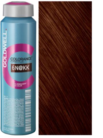 Colorance 6N@КК - темный блонд с интенсивно-медным сиянием (медный пепел) 120 мл