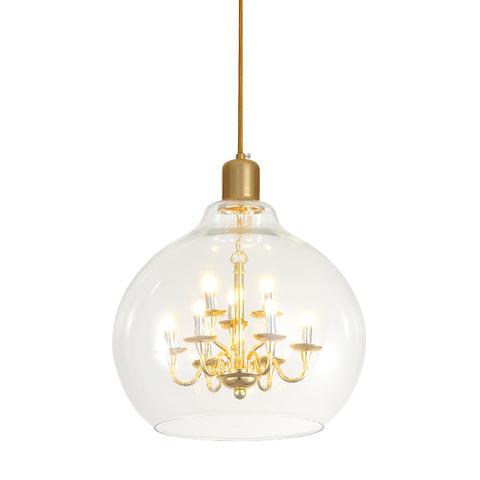 Подвесной светильник копия  King Edison by Mineheart (прозрачный)