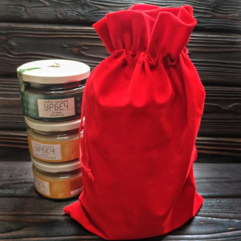 Фотография Упаковка вашего набора в мешочек купить в магазине Афлора