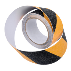 Противоскользящая лента 50 мм * 5 м, сигнальная черно-желтая