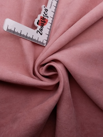 Канвас-велюр Пыльный розовый