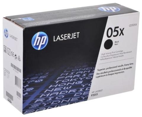 Оригинальный картридж HP CE505X 05X черный