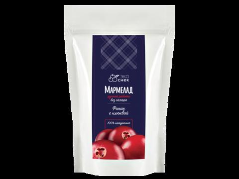 Мармелад натуральный «Финик с клюквой» без сахара