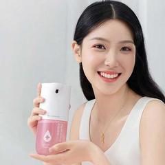 Дозатор сенсорный для жидкого мыла Xiaomi Simpleway Automatic Induction Wash Pink (белый/розовый)
