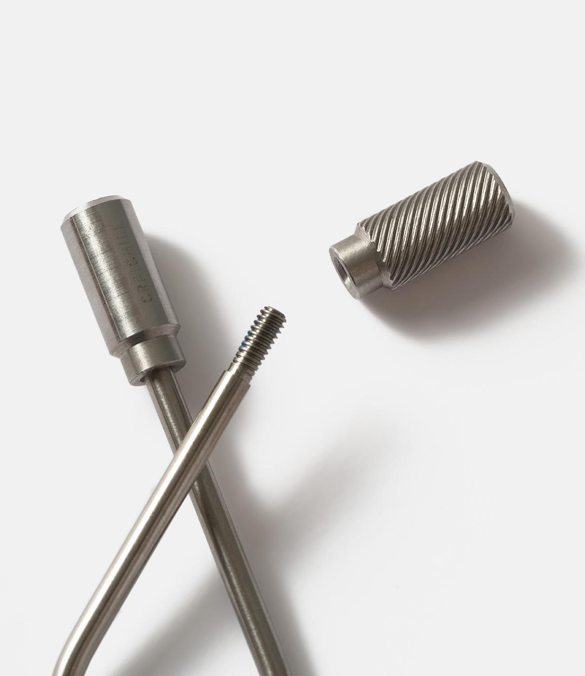 Craighill Closed Helix — ключница-спираль из стали