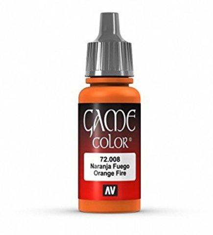 Game Color Orange Fire 17 ml.