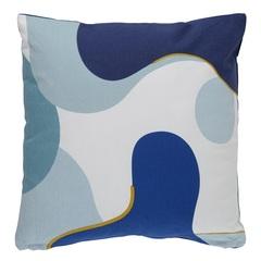 Подушка декоративная 45х45 Tkano Freak Fruit синяя