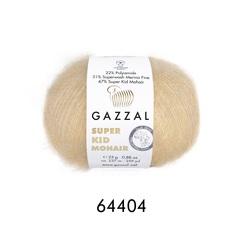 Пряжа Gazzal Super Kid Mohair цвет 64404