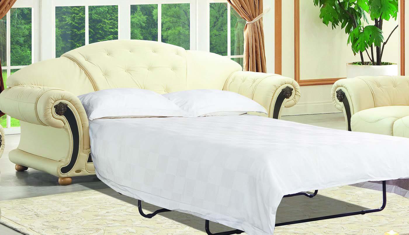 Диван-кровать ESF Versace 3-х местный белый
