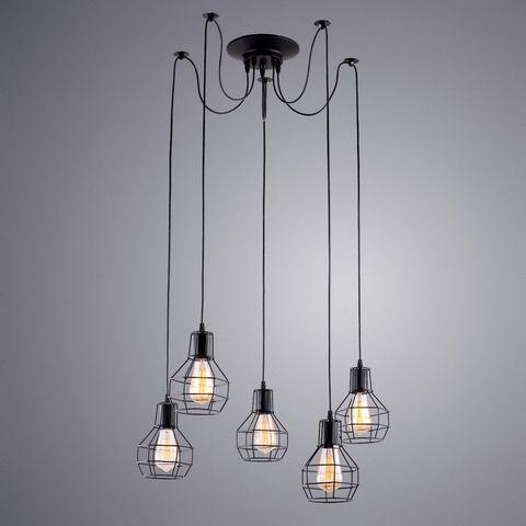 Люстра Паук 5 ламп A1109