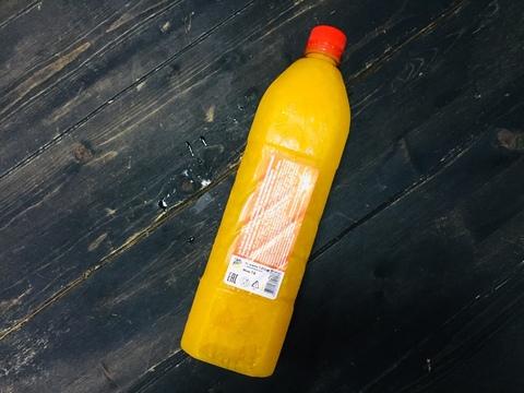 Апельсиновый сок прямого отжима 1000 мл