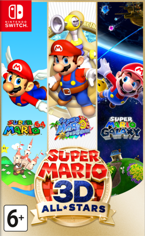 Super Mario 3D All-Stars (Nintendo Switch, английская версия)