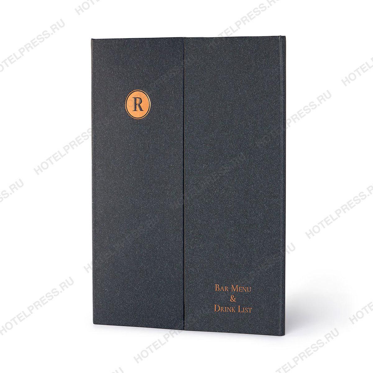 Папка трио - барное меню с карманами