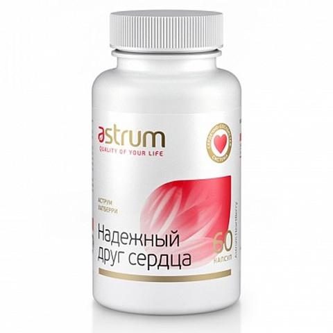 Astrum БАДы: Биодобавка Аструм Хатбери (Надежный друг сердца), 60капсул