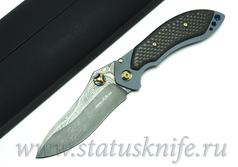 Нож BENCHMADE MINI SKIRMISH 635-81 GOLD CLASS FULL - фотография