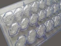 Поликарбонатная форма для шоколадных конфет