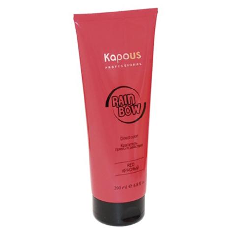Kapous, Краситель прямого действия Rainbow Красный, 200 мл