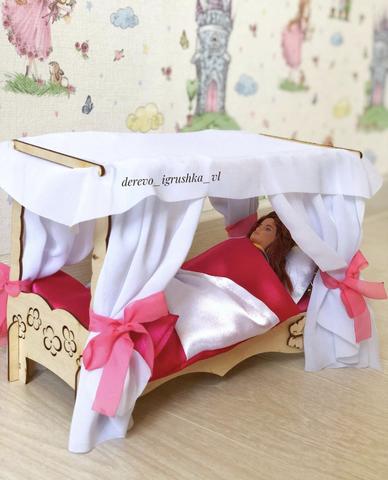 Конструктор кроватка для Барби
