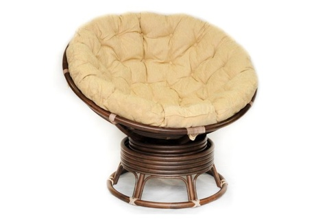 Кресло «Papasan» вращающееся 23/01B matte
