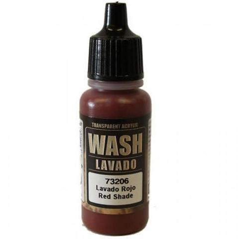 Red Wash 17 ml.