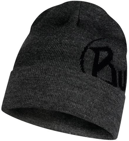Вязаная шапка Buff Hat Knitted Vadik Melange Grey фото 1
