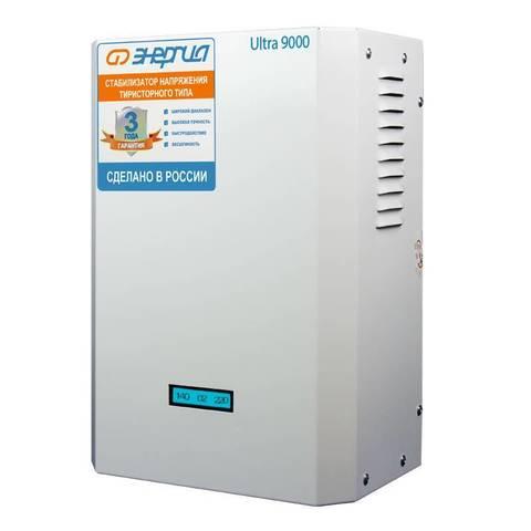Стабилизатор Энергия Ultra 9000 ВА
