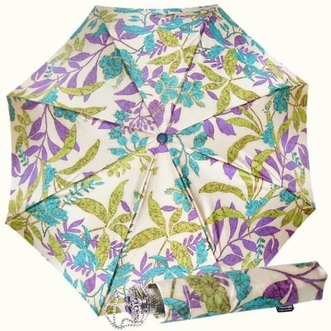 Роскошный зонтик автомат, травяной принт