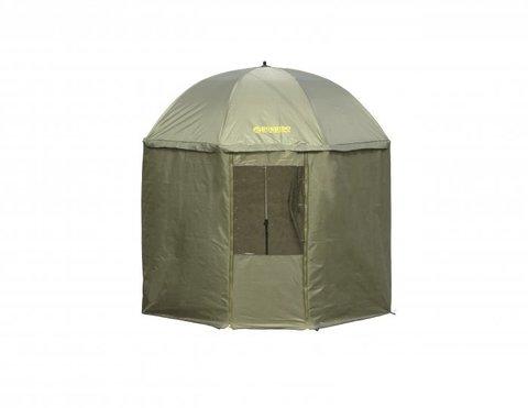 Зонт /BUSHIDO/ D-2.5m тип ПАЛАТКА (TEX210D) оливковый 0706-253