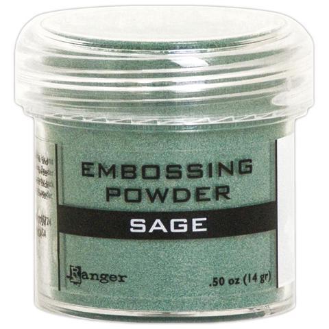 Пудра для эмбоссинга Ranger Ink- Sage Metallic