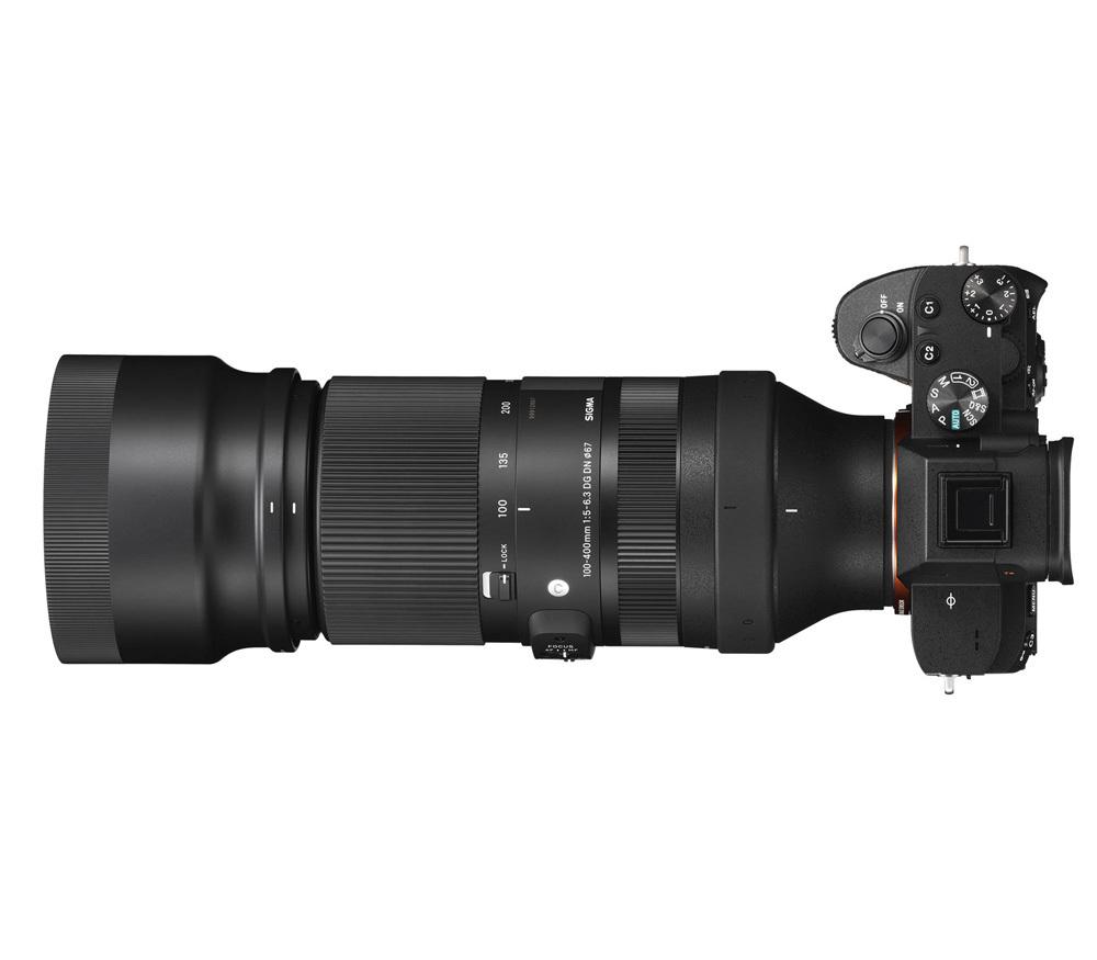 Sigma AF 100-400mm F/5-6.3 DG DN OSE купить в интернет-магазине Sony Centre