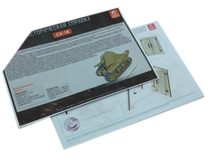 Конструктор 3D деревянный подвижный Lemmo Танк СУ-18