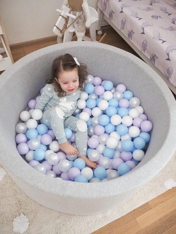 Сухой бассейн комплект Lavender