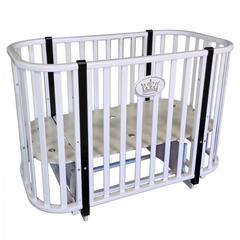 Кровать детская Антел Светлана-2 белый