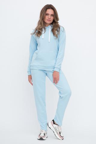 Спортивный костюм для беременных и кормящих 12661 голубой