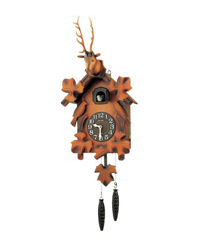 Часы с кукушкой Rhythm 4MJ416-R06