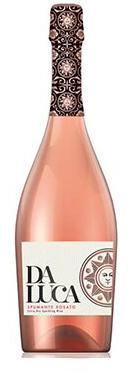 Вино игристое Да Лука Спуманте Розе розовое брют 0,75л.