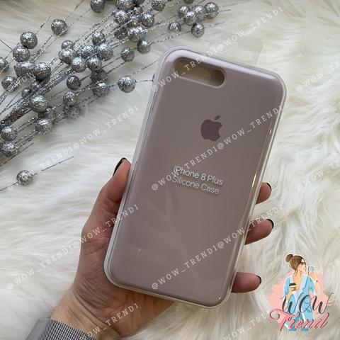 Чехол iPhone 7+/8+ Silicone Case /lavender/ лаванда 1:1