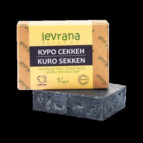 Levrana Натуральное мыло ручной работы Куро Секкен, 100гр