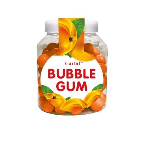 «Пузырята». Резинка жевательная дражированная со вкусом персика в бидонах 1кор*10бл*100шт 5,5гр