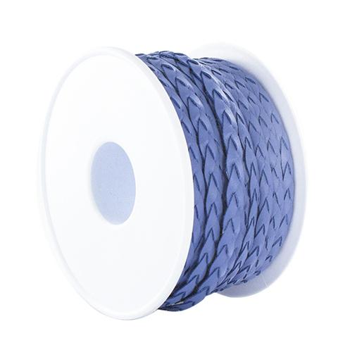 Тесьма плетеная кожзам Satab №1624
