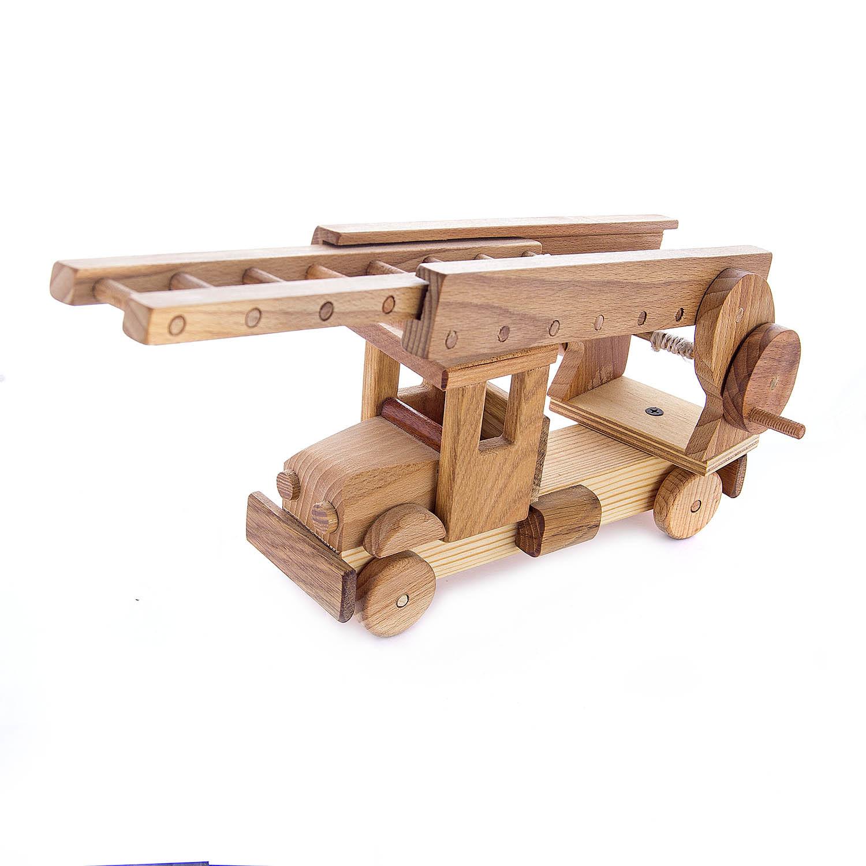 Деревянная  игрушка Пожарная машина