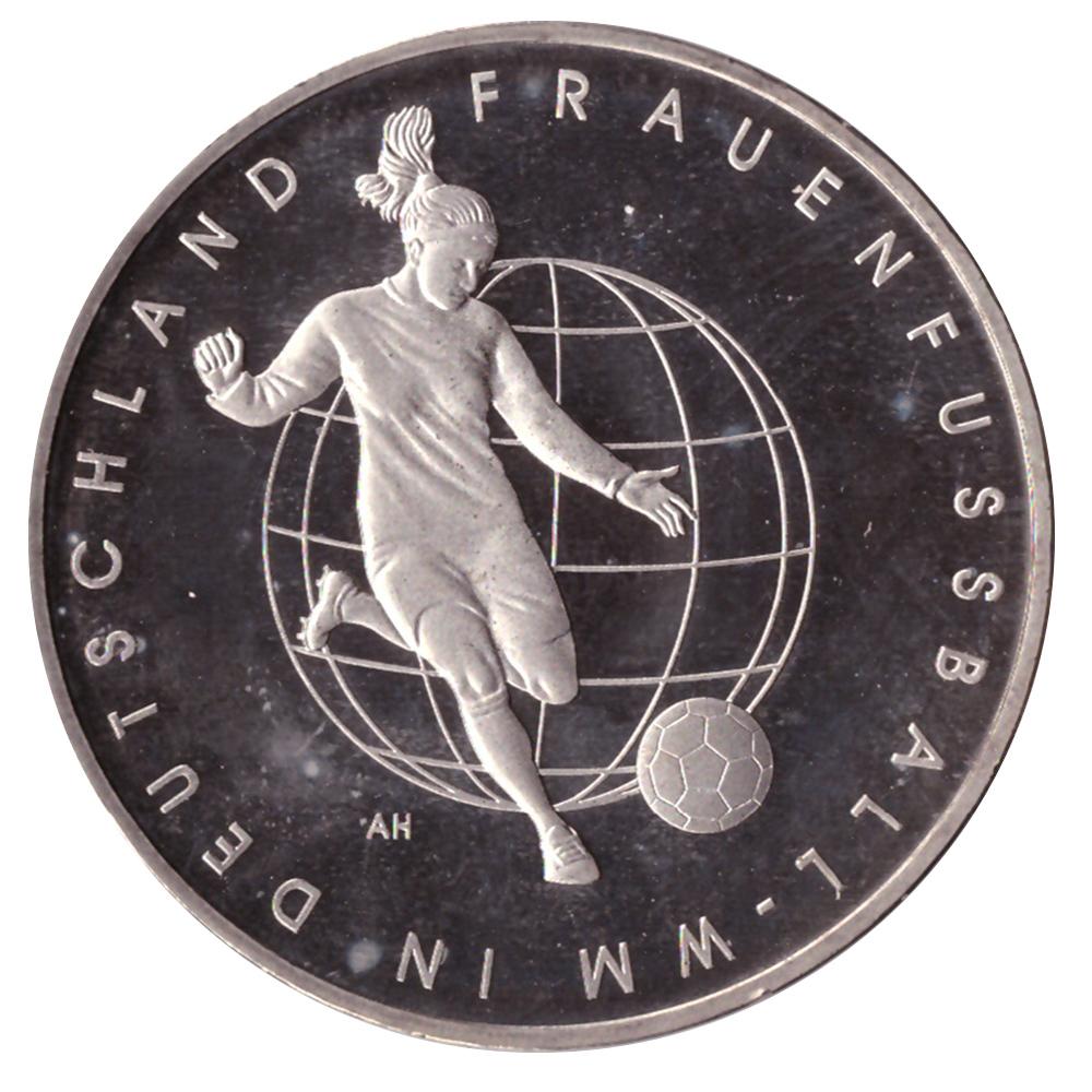 10 евро 2011 год Чемпионат мира по женскому футболу 2011 год, Германия