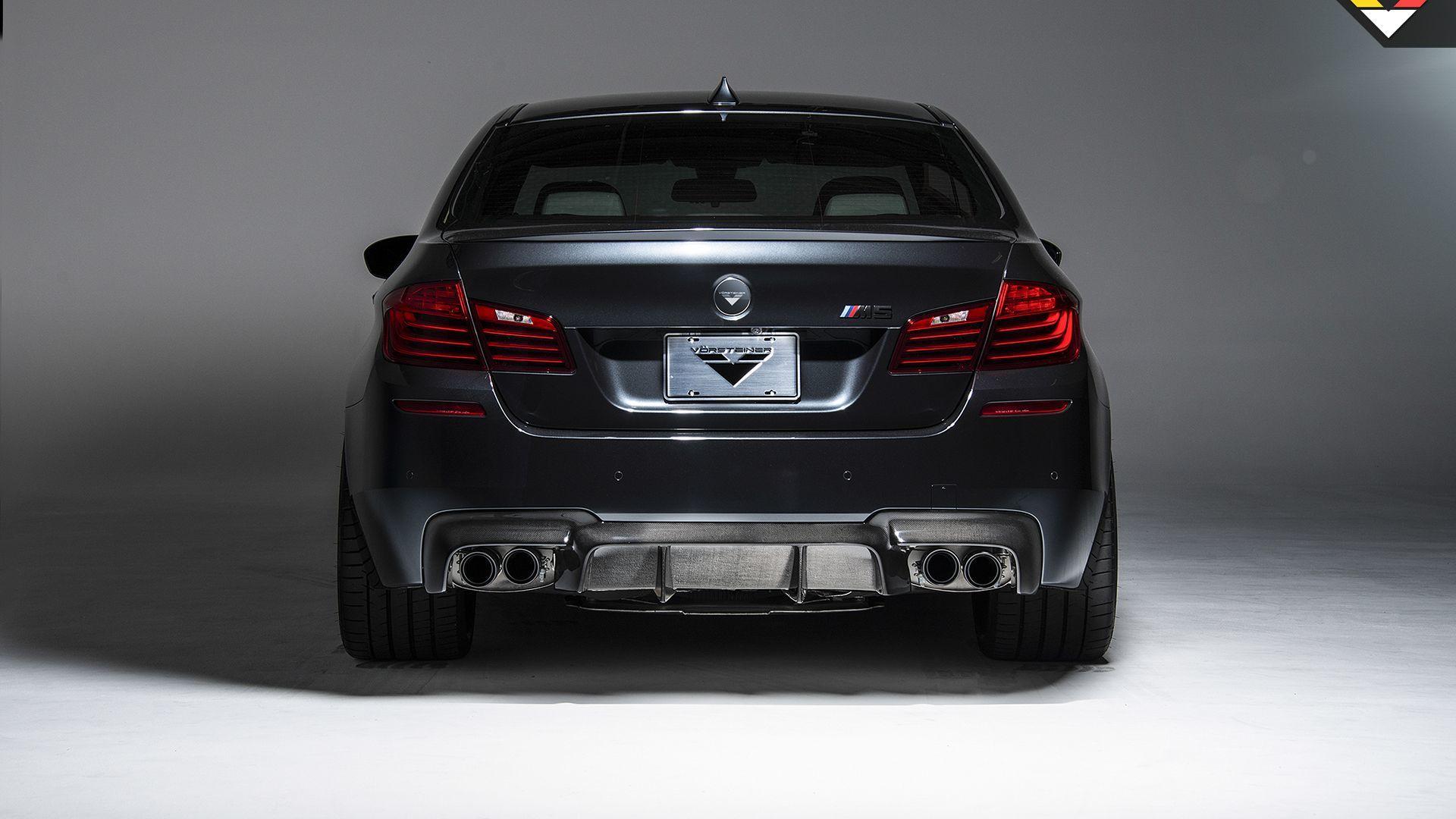 Карбоновый Диффузор заднего бампера Vorsteiner Style для BMW M5