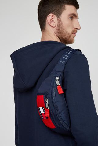 Мужская синяя поясная сумка TJM HERITAGE BUMBAG NYLON Tommy Hilfiger