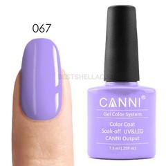 Canni, Гель-лак № 067, 7,3 мл