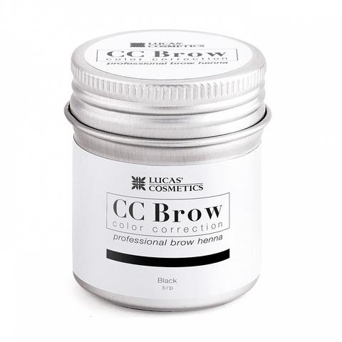 Хна для бровей CC Brow в баночке, 5 гр. Цвет черный
