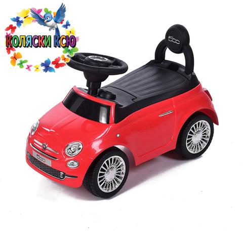 Машина-каталка Fiat  красный