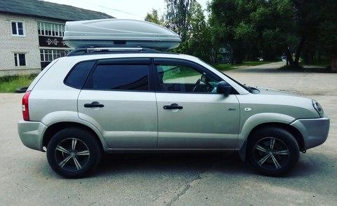 Автобокс Way-box 460 литров на Hyundai Tucson 1