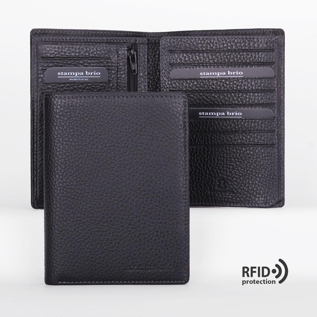 607 R - Портмоне вертикальное 5в1 с RFID защитой