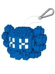 Конструктор Wisehawk & LNO Синий брелок Кавс 276 деталей NO. 2587 Blue trinket Kaws Wise block